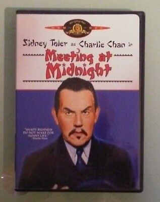sidney toler as charlie chan in  MEETING AT MIDNIGHT  DVD