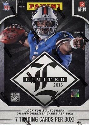 2013 Panini Limited Football Hobby Box