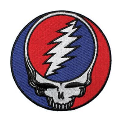 Grateful Dead Steal Your Face New Sew/Iron on Patch rock music band coat jacket