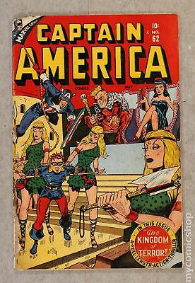 Captain America Comics (Golden Age) #62 1947 GD- 1.8