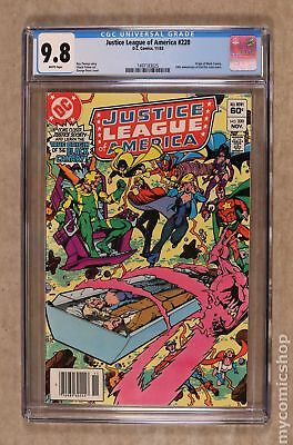 Justice League of America (1st Series) #220 1983 CGC 9.8 1497183025