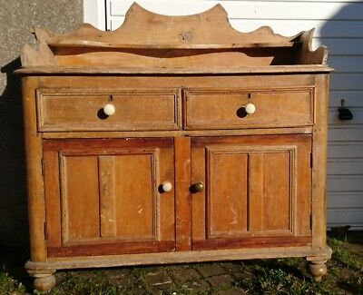Antique Old pine cupboard