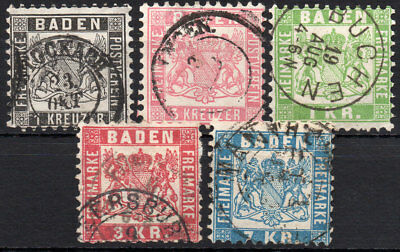 Old Germany Baden used (4199