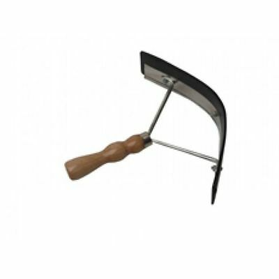 Bitz Sweat Scraper Deluxe With Wooden Handle For Use After Bathing Horses