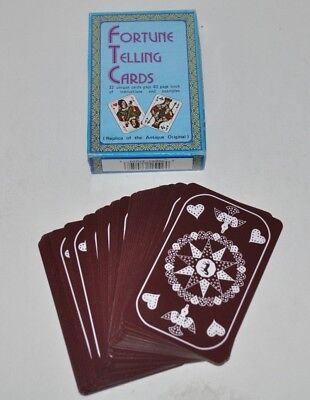 FORTUNE TELLING CARDS 32 card game McGranahan
