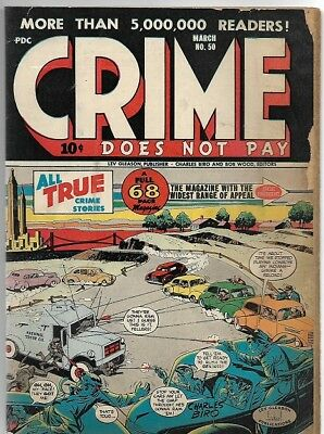 Crime Does Not Pay #50 March 1947  pre-code
