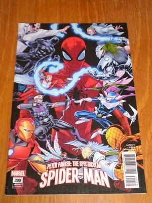 Peter Parker Spectacular Spiderman #300 Marvel Comics Kubert Variant April 2018