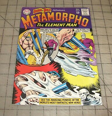 The Brave and The Bold #57 (January 1965) High-Grade Comic - 1st METAMORPHO