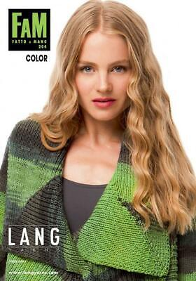 Lang Yarns Wolle Kreativ FAM 233 FASHION Anleitungsheft
