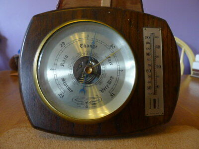 Comitti of London Wall Barometer with Thermometer....VGWC