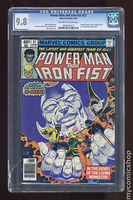 Power Man and Iron Fist (Hero for Hire) #57 1979 CGC 9.8 0958231012