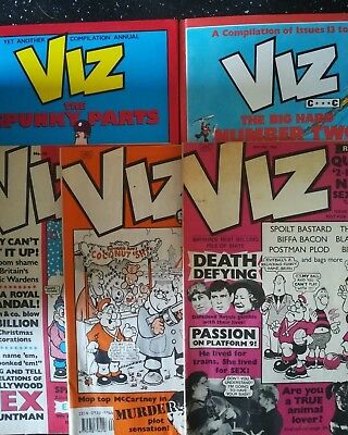 Joblot of Viz Annuals and Comics