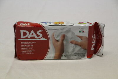DAS MODELLING CLAY WHITE AIR HARDENING 1000g. MODEL MATERIAL. 1KG dns