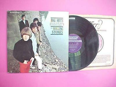 Vinyl 1966 LP Record THE ROLLING STONES BIG HITS Satisfaction LONDON NPS-1 / NM