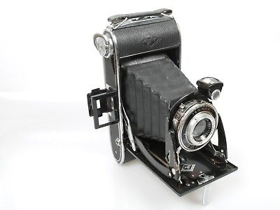 AGFA BILLY RECORD 6x9 Rollfilmkamera folding camera + Anast. IGESTAR 1:6,3 10cm