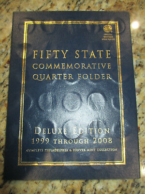1999-2008 100-coin 50 State Quarter Complete Set (Whitman Albums)