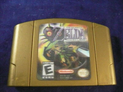 Nintendo 64 Holgraphic The Legend Of Zelda Majora's Mask Game Only!