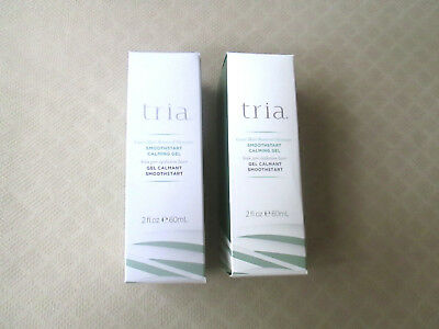2 Tria Beauty Hair Removal SmoothStart Calming Gel New & Sealed Tube in Box - 2