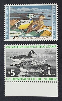 CKStamps: US Federal Duck Stamps Collection Scott#RW40 RW43 $5 Mint NH OG