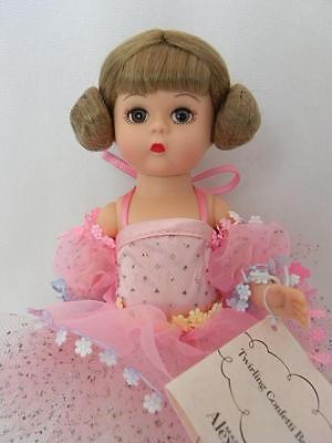 "Darling Madame Alexander 8"" Twirling Confetti Ballerina 35075 Bent Knee 2003"
