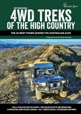 NEW 4WD Treks of the High Country By Craig Lewis Spiral Ringed Book