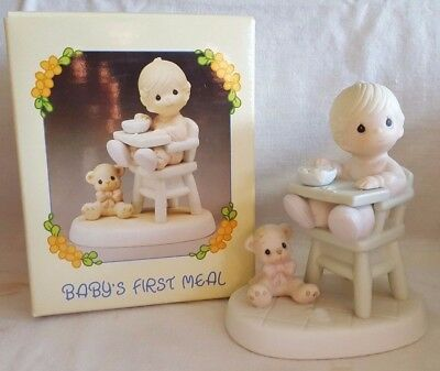 Baby's First Meal ~ Precious Moments ~ 524077 (Enesco Collectible)