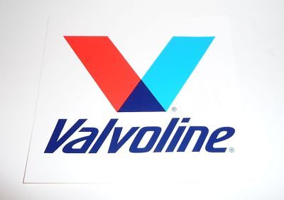 Extra Large VALVOLINE Decal 7 inches NEW