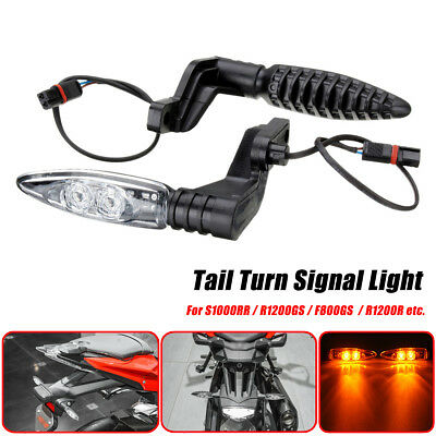 2PCS MOTORCYCLE Rear LED Turn Signal Indicator Light For BMW S1000RR R1200GS
