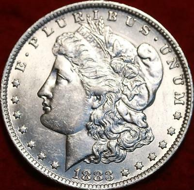 Uncirculated 1883-O New Orleans Mint  Morgan Dollar