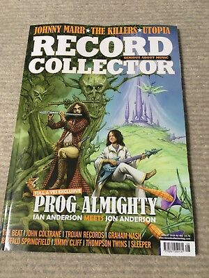 RECORD COLLECTOR   Magazine  August  2018    JETHRO TULL  YES  KILLERS  UTOPIA