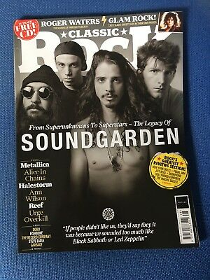 CLASSIC ROCK  Magazine  August  2018  SOUNDGARDEN  ROGER WATERS  GLAM ROCK  REEF