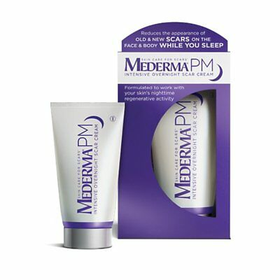 Mederma PM Intensive Overnight Scar Cream Works w/Skin's Nighttime EXP 05/2020