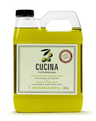 Fruits & Passion - Cucina Hand Soap Refill - Coriander & Olive Tree - 33.8 fl oz