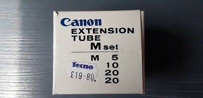 Canon Extension Tube M Set: M5, M10, M20 X2 Very Good Condition