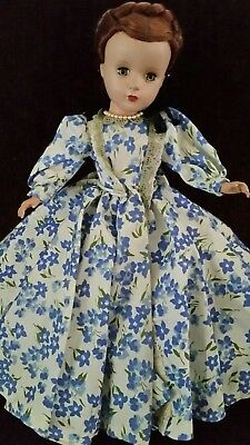 """Beautiful! Vintage 1950's Madame Alexander Little Woman Doll Marme 14"""" W/outfit"""
