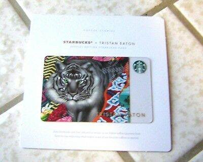 Starbucks Sumatra Special Edition Gift Card ~ Tristan Eaton ~ NEW ~ With $5.00