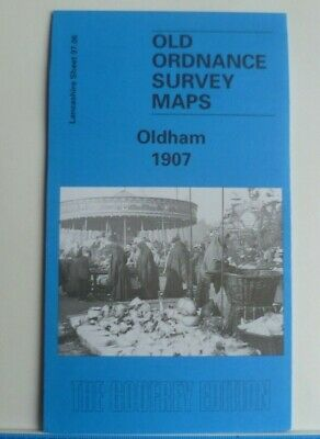Old Ordnance Survey Detailed Maps Oldham Lancashire 1907  Sheet 97.06 New