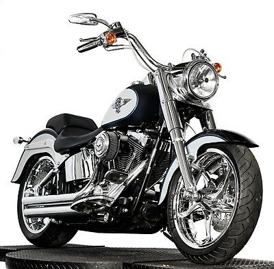 2012 Harley-Davidson Softail  2012 Harley Davidson Softail Fatboy FLSTF Super Clean! Many Extras! All Chrome!