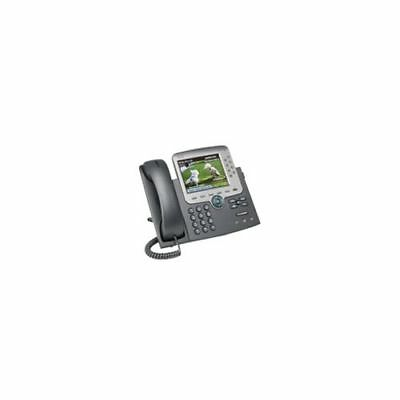 Cisco IP Phone 7975 VoIP Telefon Dunkelgrau