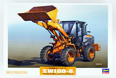 Hasegawa WM04 Hitachi Construction Machinery Wheel Loader ZW100-6 1/35 scale kit