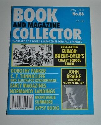 Book Collector # 86 May 1991 - John Braine, C.F Tunnicliffe, Brent-Dyer, Gypsy
