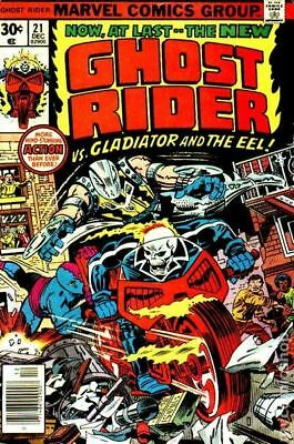 Ghost Rider (1st Series) #21 1976 GD/VG 3.0 Stock Image Low Grade