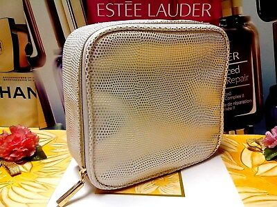 ESTEE LAUDER Cosmetic Bag☾Gold Point/◆Large Size◆☽Fashion ~ Noble☾H/ *19% OUT*☽