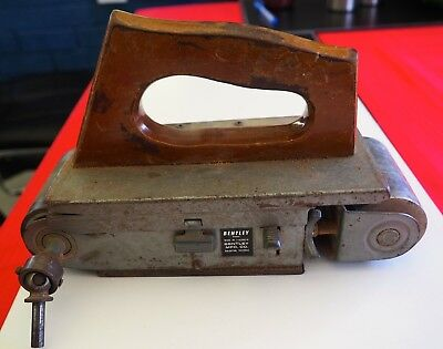 RARE Vintage BENTLEY Belt Sander - Attaches to electric drill -Made in Australia