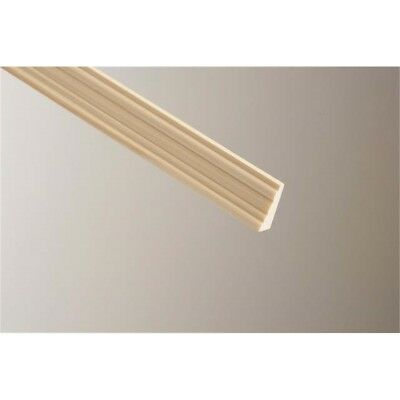 Cheshire Mouldings Broken Ogee Pine Moulding, 8 x 15mm x 2.4m