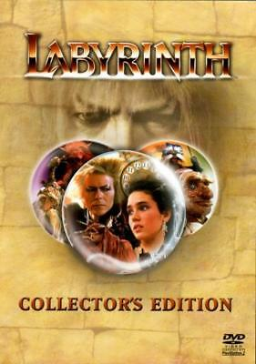 Laberinto (DVD / Edición de Coleccionista/Jennifer Connelly / Jim Henson 1986)