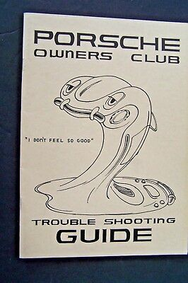 Porsche owners club magazine troubleshooting guide used original 356 workshop