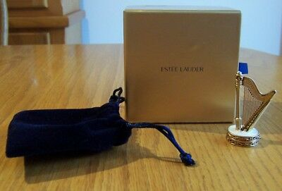 Estee Lauder 2007 White Linen Heavenly Harp Solid Perfume Compact Mint in Box