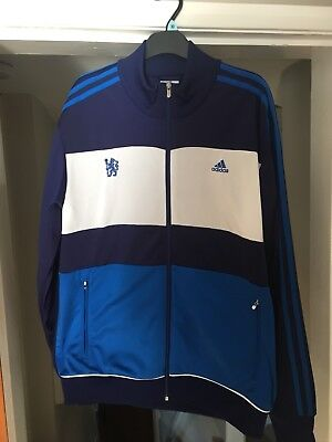 CHELSEA FC 2017 2018 Nike Blue Presentation Training Jacket Size M ... 592dc0923