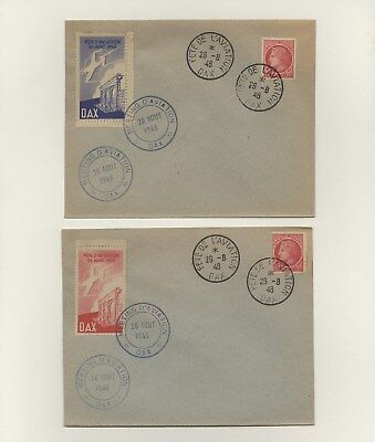 France - Set of 4 Covers Lot # 69